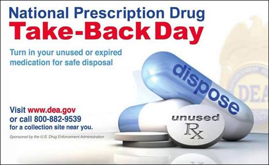 National Drug Take-Back Day Pic