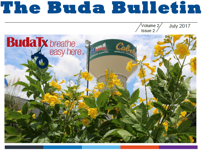The Buda Bulletin - July 2017 Pic