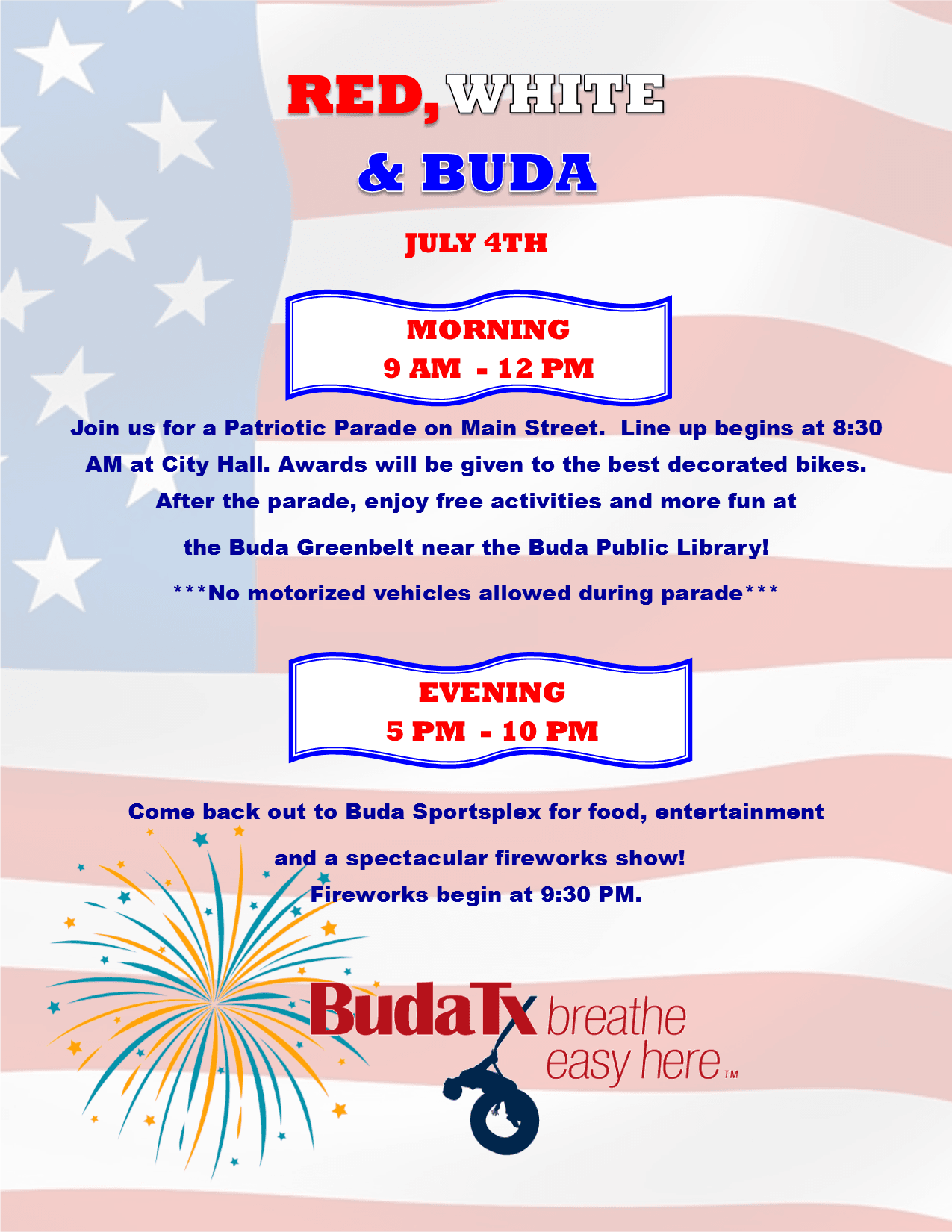 Red, White, and Buda 2018