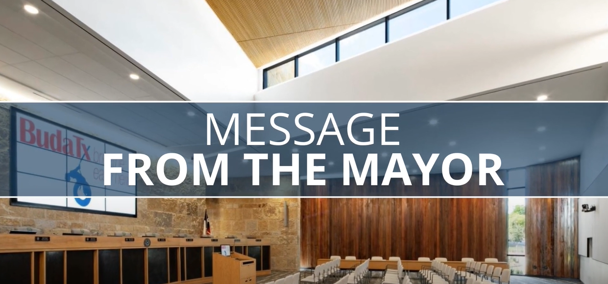 Message From the Mayor - April 23, 2020