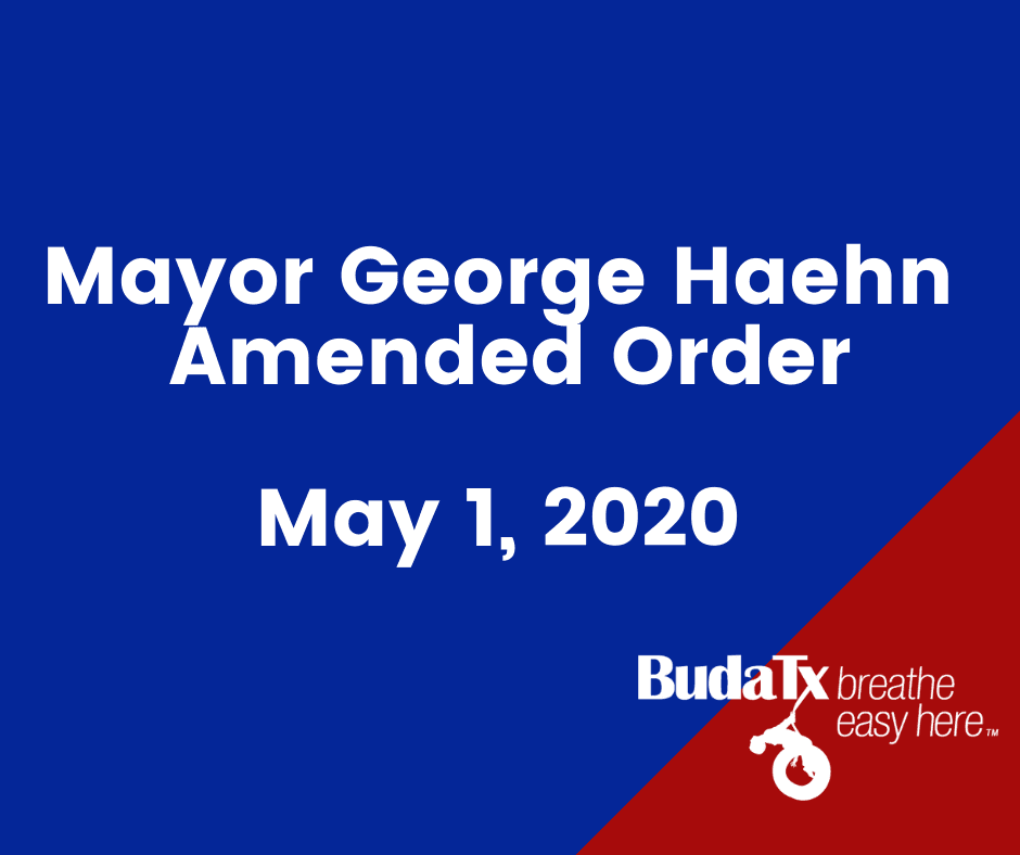 Mayor Haehn Amended Order (3)