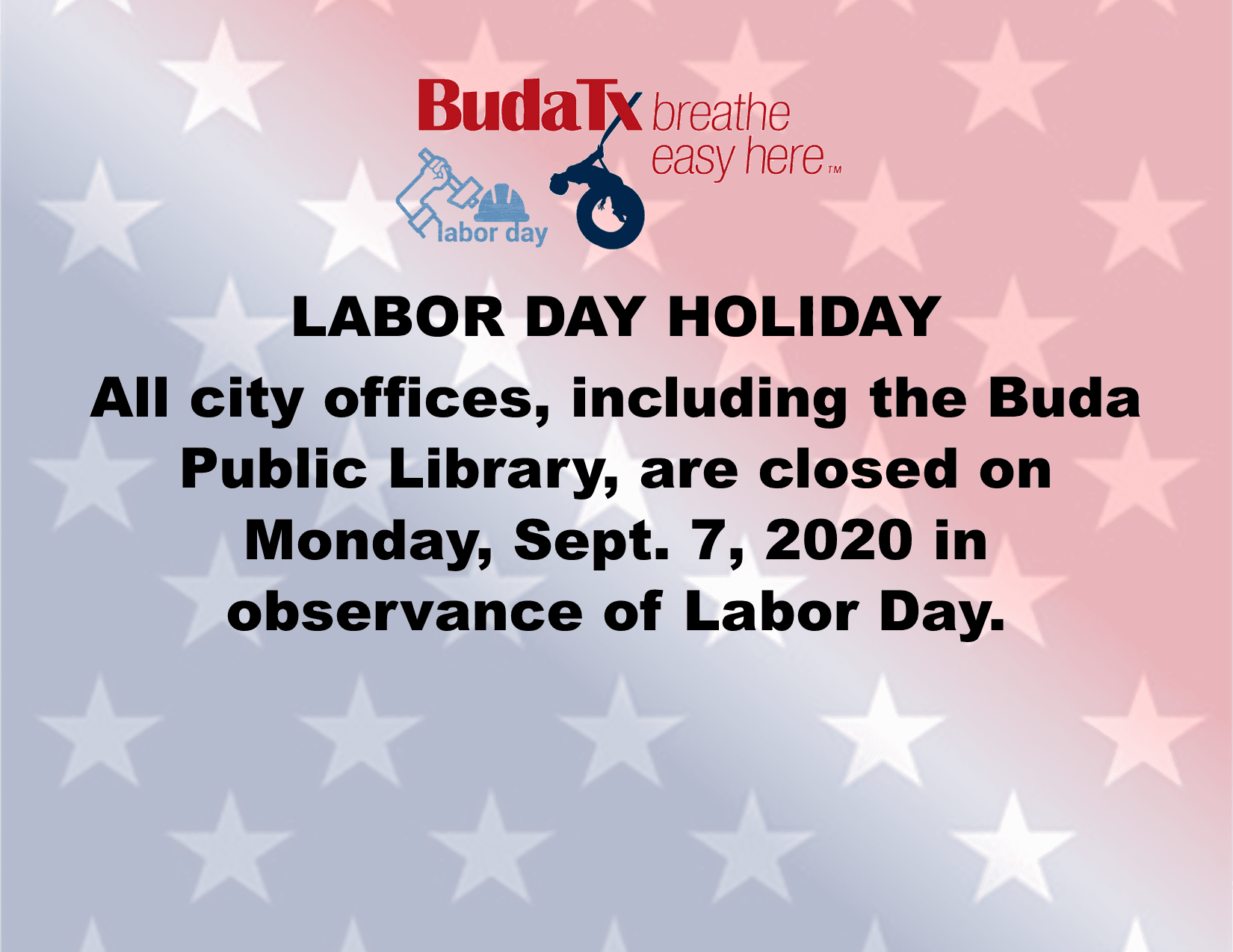 Labor Day Holiday 2020