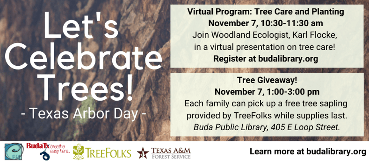 Arbor Day Events - Nov. 2020