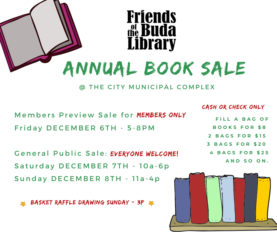 friends of the buda library 2019