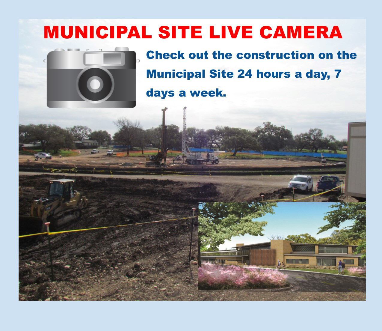 Municipal Site Live Camera Pic