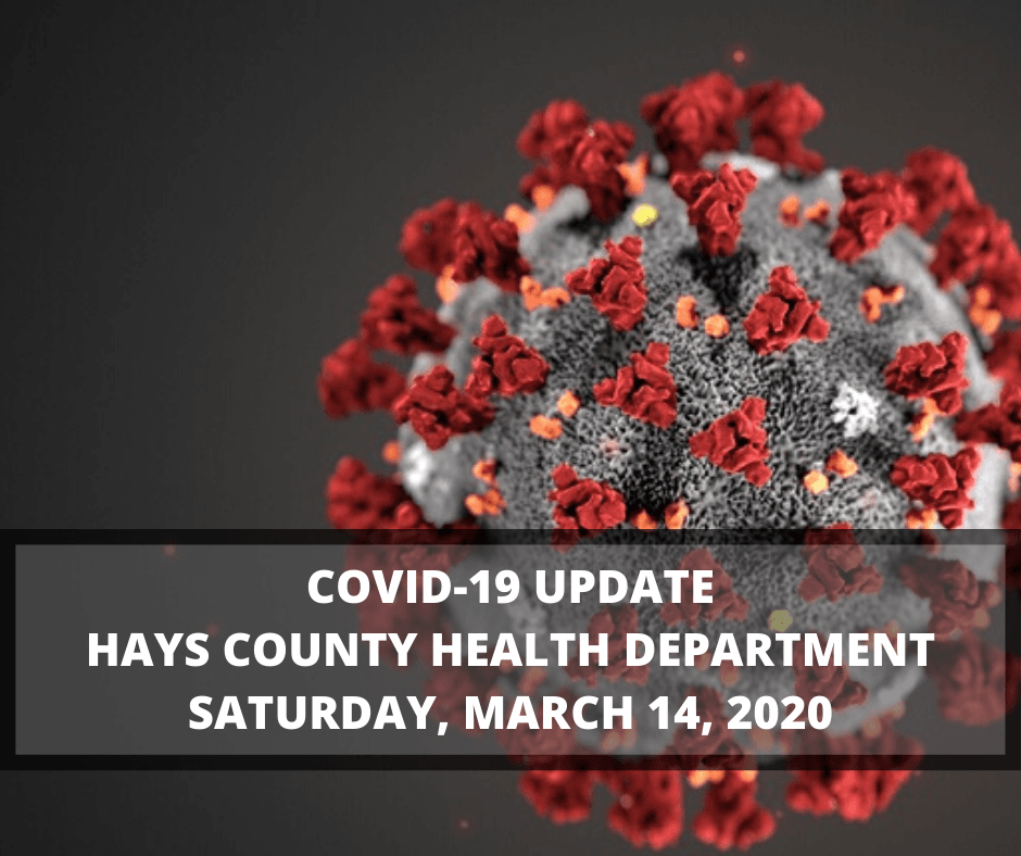 COVID-19 UPDATE HAYS COUNTY HEALTH DEPARTMENT