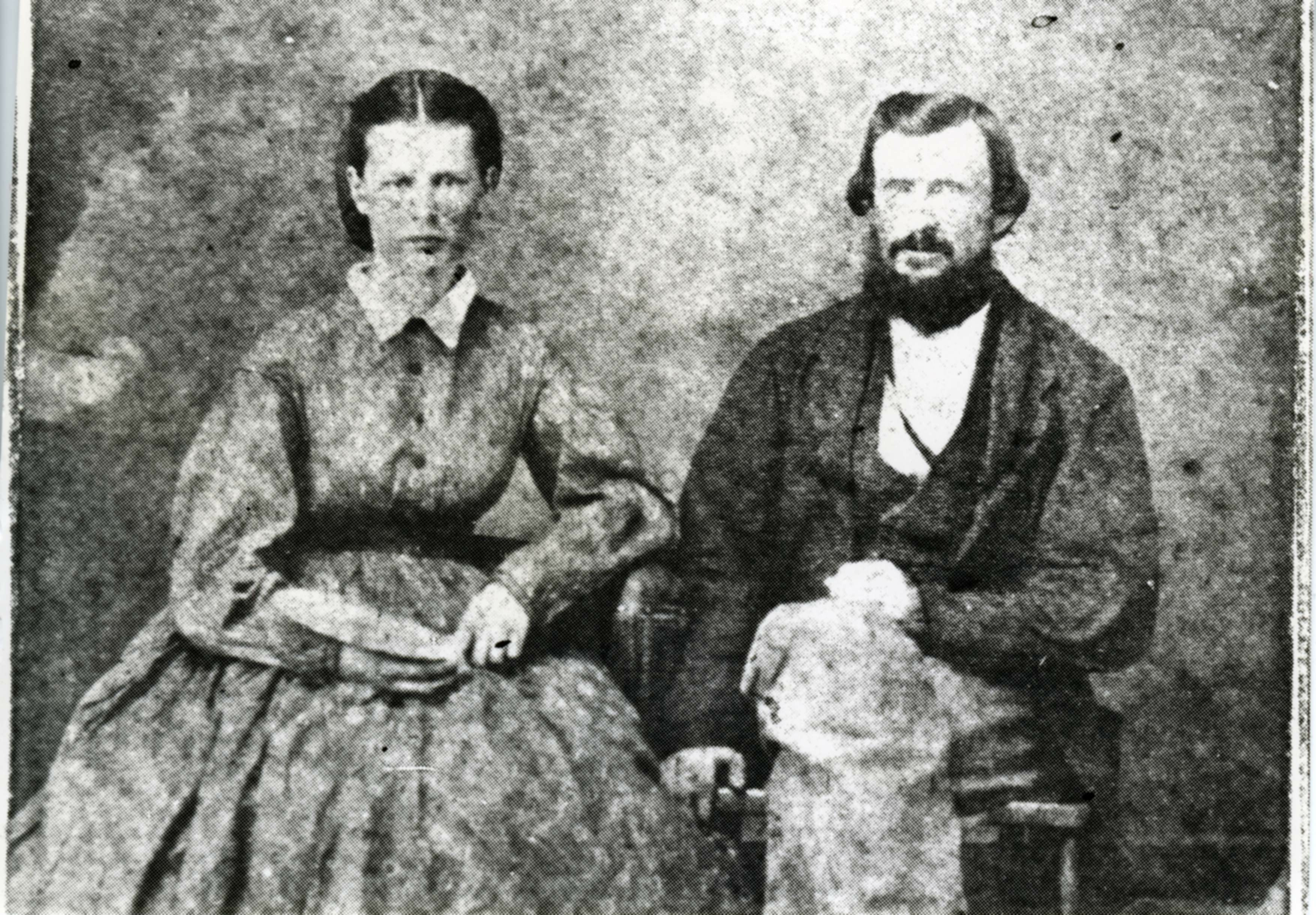 Cyrus Milton and Charlotte Agitha Clayton Carpente